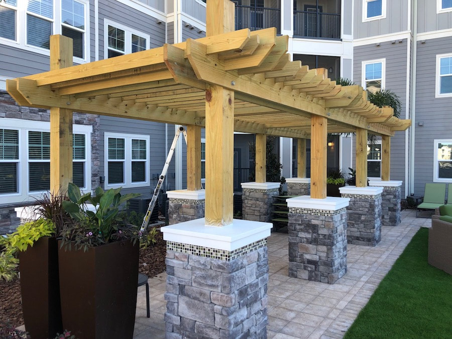 Custom Outdoor Carpenters Tampa 04